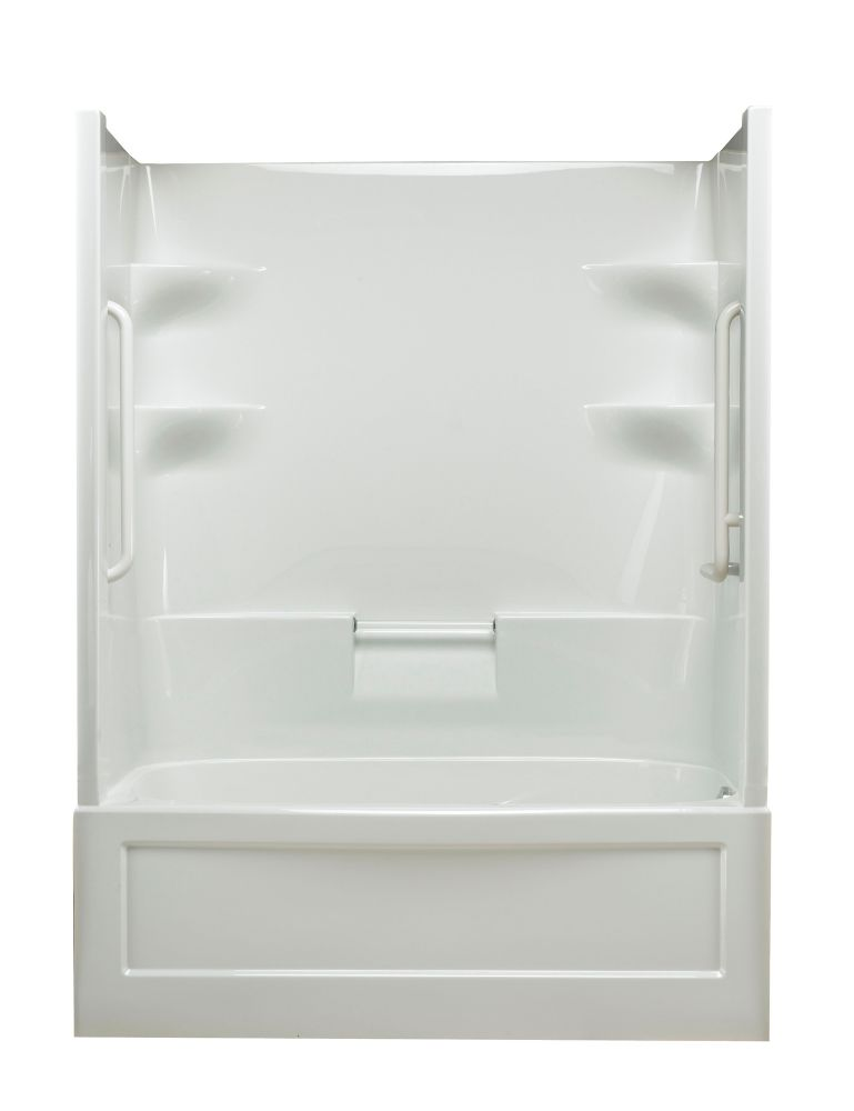 Belaire 1-piece Whirlpool Free Living Series - Standard- Right Hand