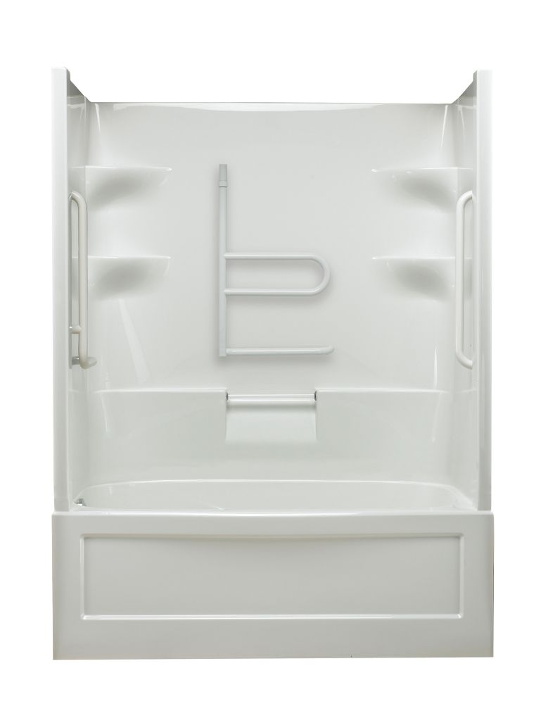 Belaire 1-piece Whirlpool Free Living Series - Grand-Left Hand