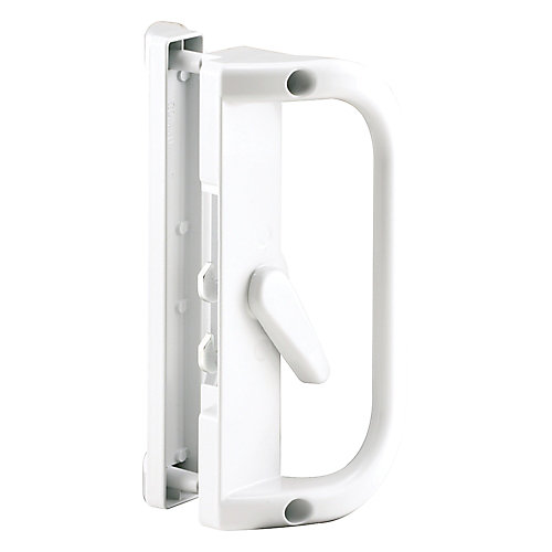 Prime Line White Sliding Patio Door Handle The Home Depot Canada