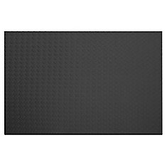 Tapis gris roulé anti-fatigue - 43 Inches x 87 Inches