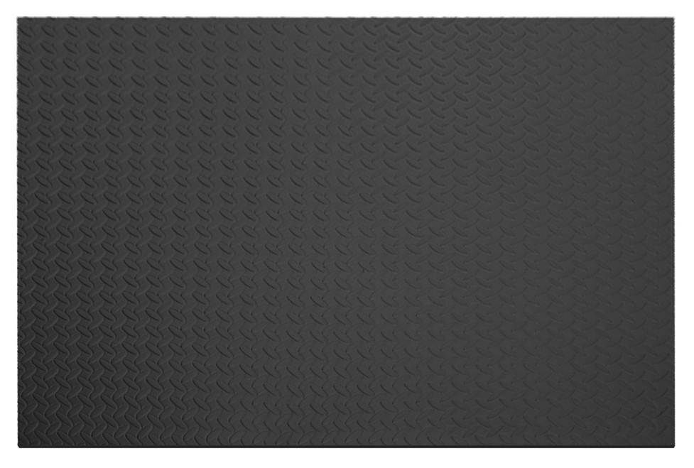 Home Decor Anti Fatigue Rolled Mat Grey - 43 Inches x 87 Inches