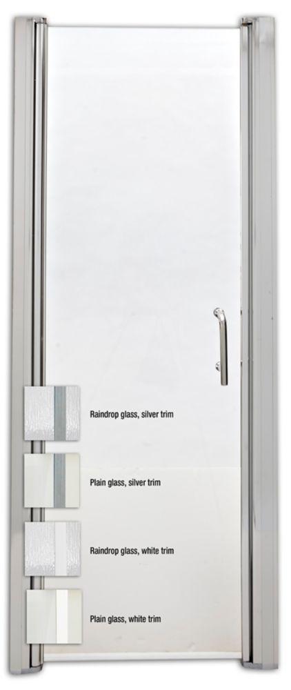 Porte de douche pivotante sans cadre, pour modèle Madison 3