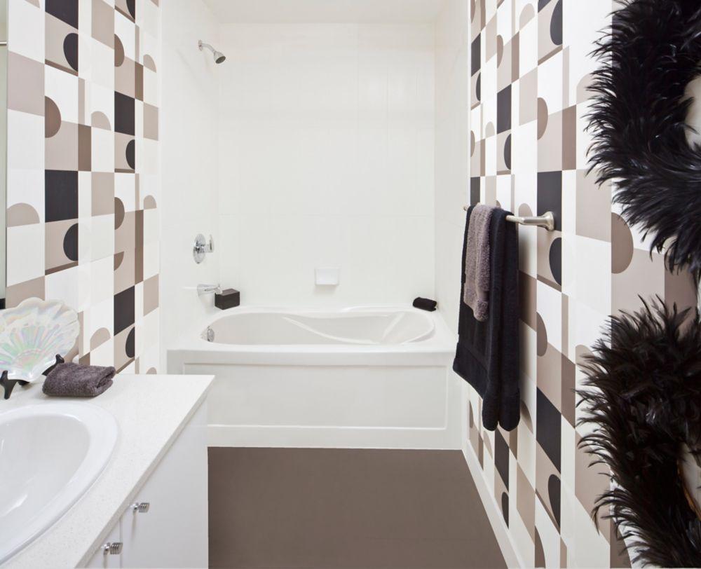 Prescott Acrylic Skirted Whirlpool Bathtub