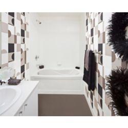 Mirolin Prescott Acrylic Skirted Whirlpool Bathtub