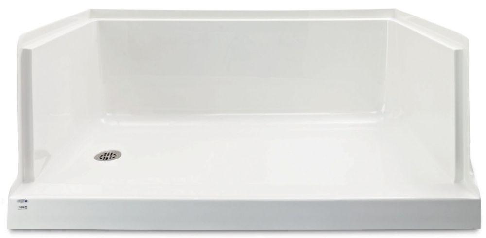 Ellis 60 - Base de douche en acrylique - Gauche