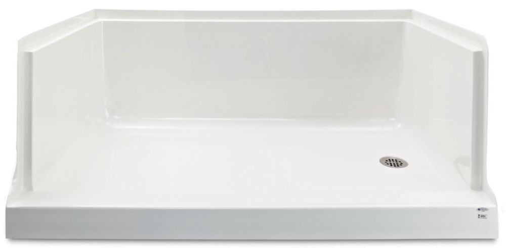 Ellis 60 Acrylic Shower Base- Right Hand EB6032R Canada Discount
