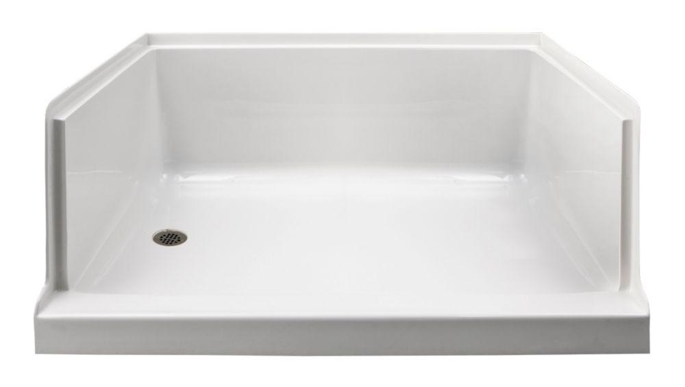 Ellis 60 XL - Base de douche en acrylique - Gauche