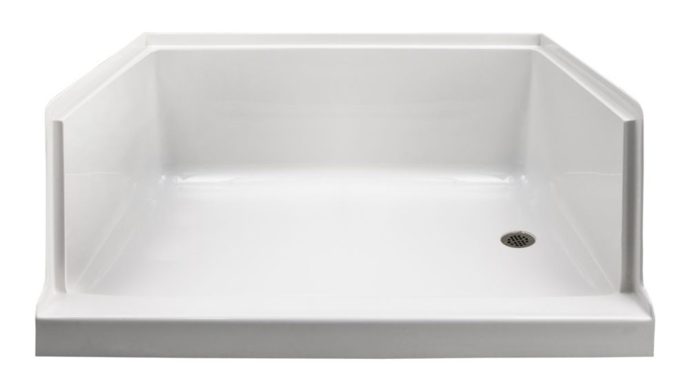 Valley Kache 60x36 Right-hand Drain Shower base | The Home Depot Canada