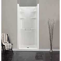 melrose 3 1piece acrylic shower stall - Shower Stalls