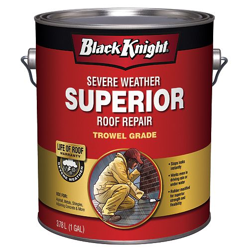 Black Knight Severe Weather Superior Roof Repair 3.78L