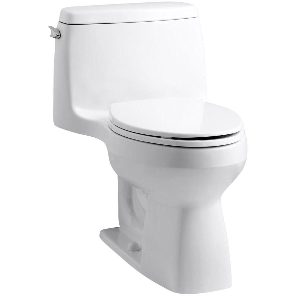 Kohler Santa Rosa 1 Piece Single Flush Elongated Bowl Toilet In