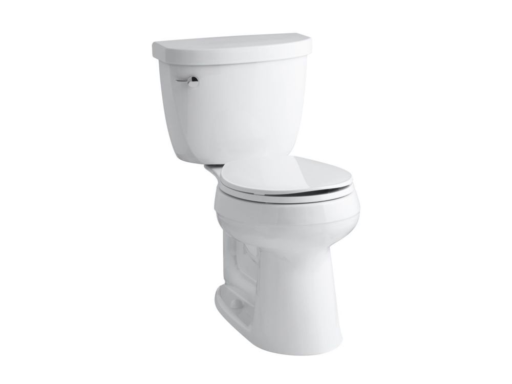 Kohler Cimarron 2 Piece Gal Round Bowl Toilet In