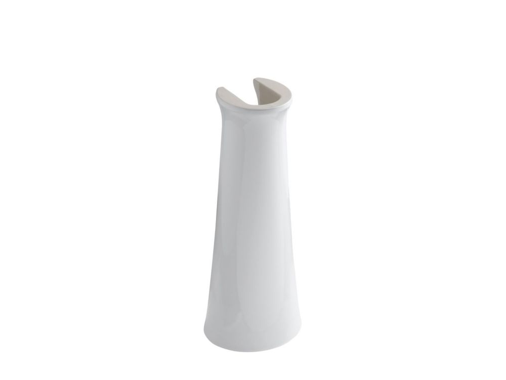 Cimarron Bathroom Pedestal in White