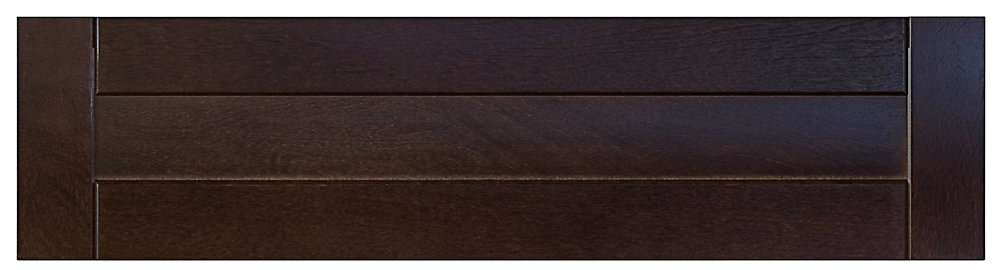 Wood Drawer Front Barcelona 36 Inch x 7,5 Inch Choco