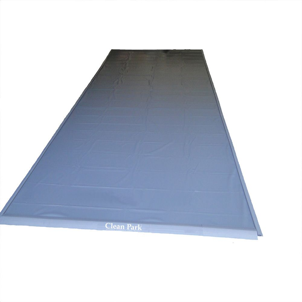 Heavy Duty 50-mil Clean Park 4.5 Ft. x 9 Ft. Motorcycle/Golf Cart Mat