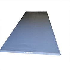 Clean Park 7.5 ft. x 18 ft. Heavy Duty 50-mil Garage Mat