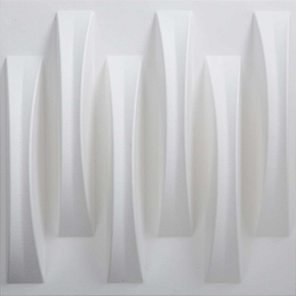 PaperForms Tissure Acoustique Carreaux Modulables Papier-peints Couleur Blanc (peuvent peuvent êt...