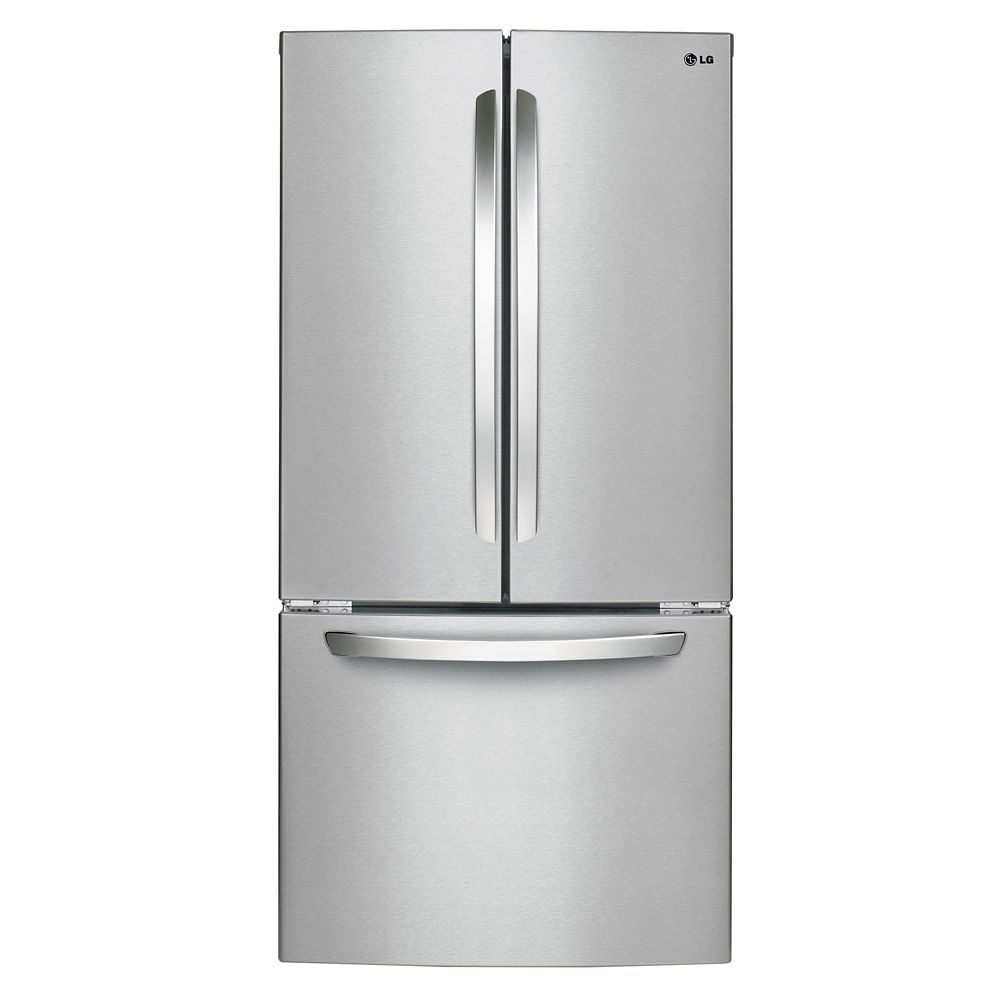 24 cu. ft. French Door Refrigerator in Stainless Steel