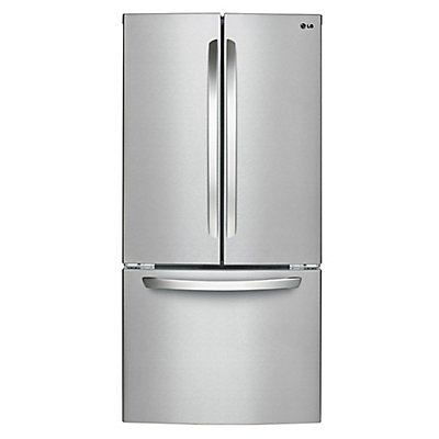Lg Electronics 33 Inch 24 Cu Ft French Door Refrigerator In