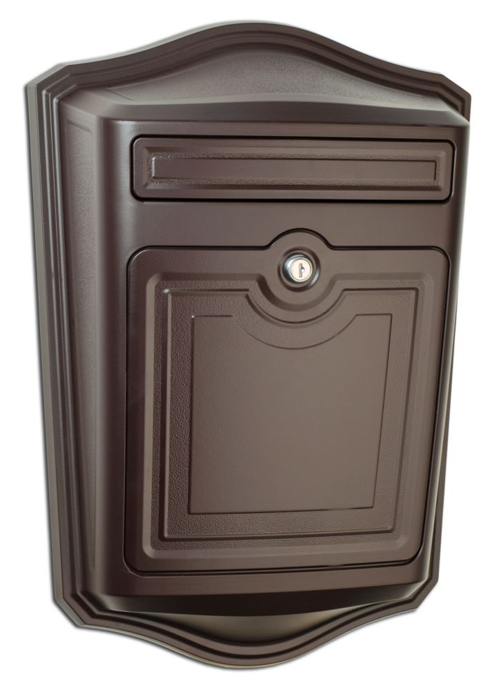 Maison Locking Wall Mount Mailbox Oil Rubbed Bronze