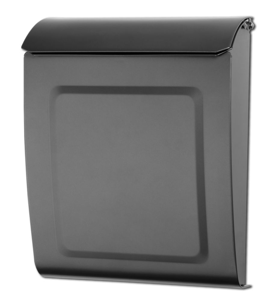 Architectural Mailboxes Aspen Locking Wall Mount Mailbox Graphite
