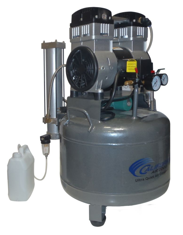 California air tools 1020d compresseur d 39 air avec r servoir d 39 acier sans huile ultra - Compresseur d air silencieux ...