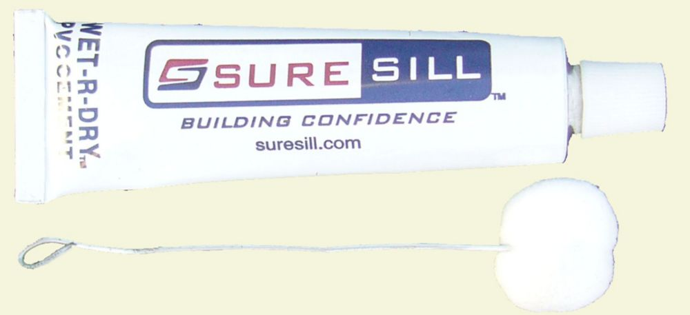 Fibrociment à PVC Wet-R-Dry pour les produits - 1 tube de 15 ml et applicateur