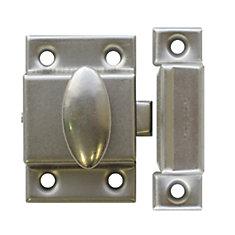 Cupboard Latch - Brushed Nickel