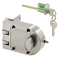 Single Cylinder Satin Nickel Deadlock