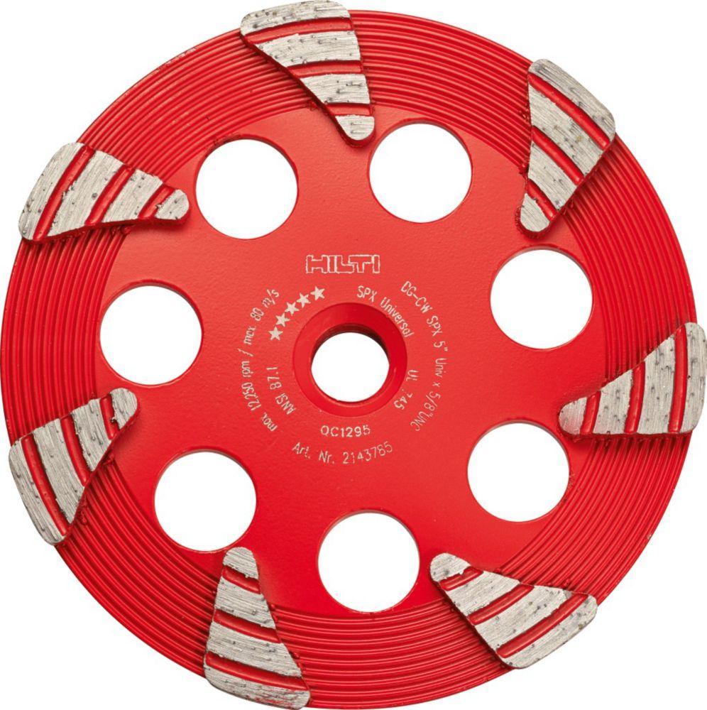 Diamond Cup Wheel For Concrete - 6 Inch