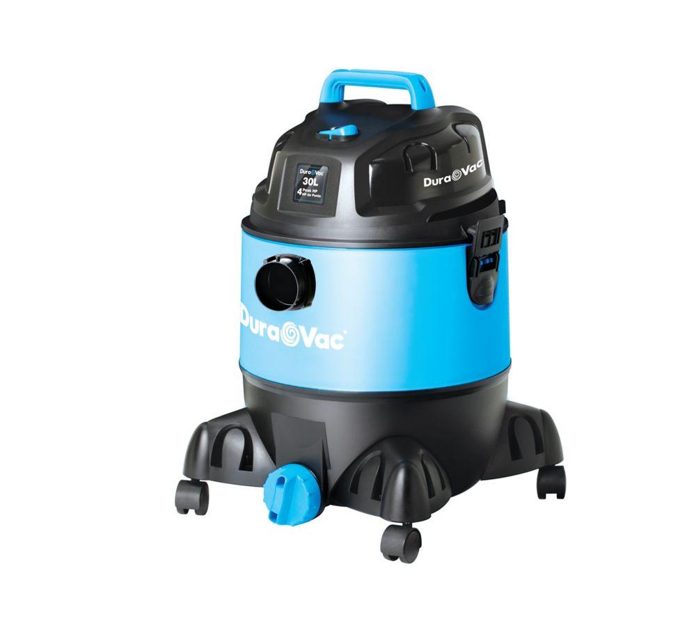 30L 8US Gallon 4HP 1.25 Inch Hose Wet Dry Vacuum