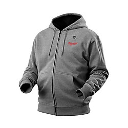Milwaukee Tool M12 Cordless Gray Heated Hoodie Kit - Triple Extra Large