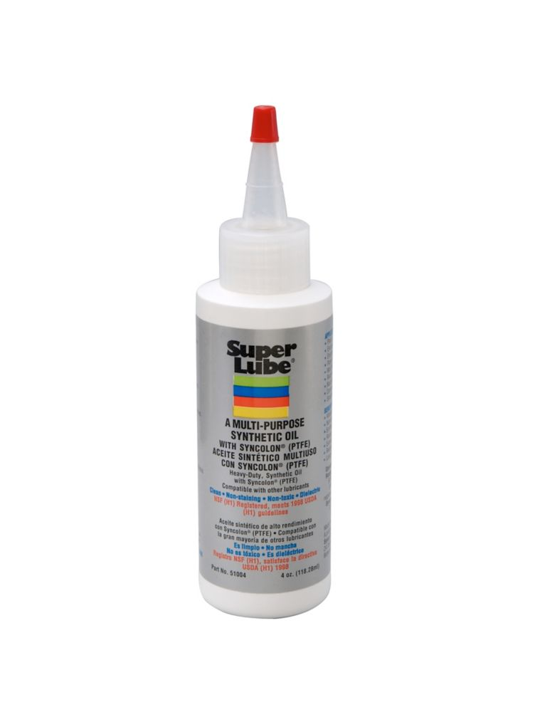 4 oz. Bottle Oil with Syncolon (PTFE) Lubricant (6-Pieces)
