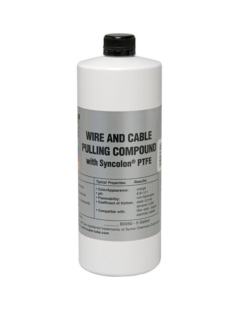 1 qt. Bottle SuperPull Fiber Optic Pulling Compound 80320 Canada Discount
