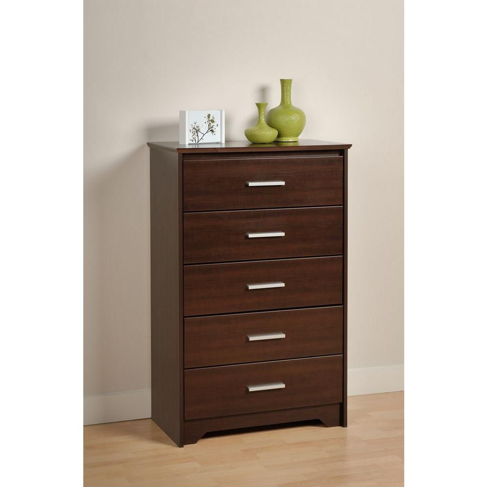 Espresso Coal Harbor 5 Drawer Chest