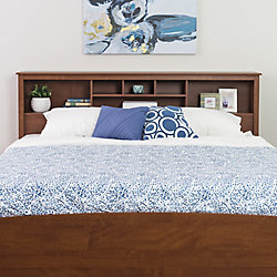 Prepac Cherry King Bookcase Headboard