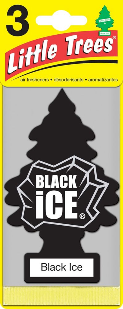 Little Trees BLACK ICE 3PK