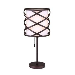 Canarm Ltd. Carlina 1 Light ORB Table Lamp