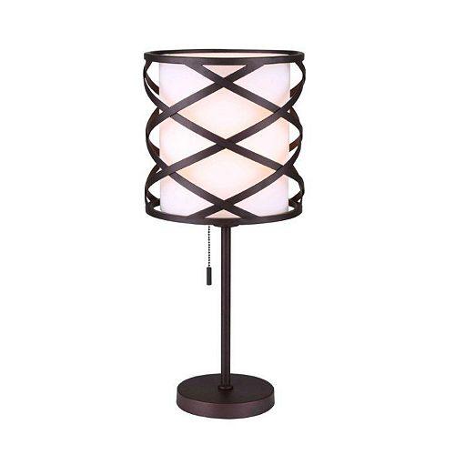 Canarm Carlina 1 Light ORB Table Lamp
