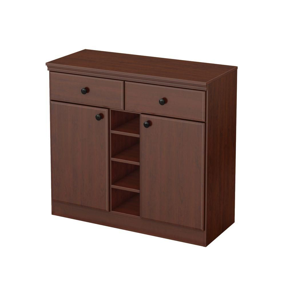 Morgan Royal Cherry 2-Drawer Storage Console