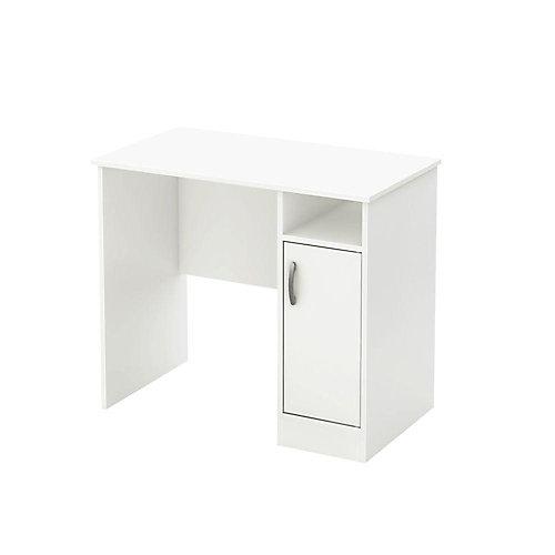 Freeport Freeport 35.5-inch x 19.5-inch x 30.25-inch 1-Door 2-Shelf Workstation in White