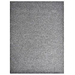 Lanart Rug Impact Grey 4 ft. x 82 ft. Runner