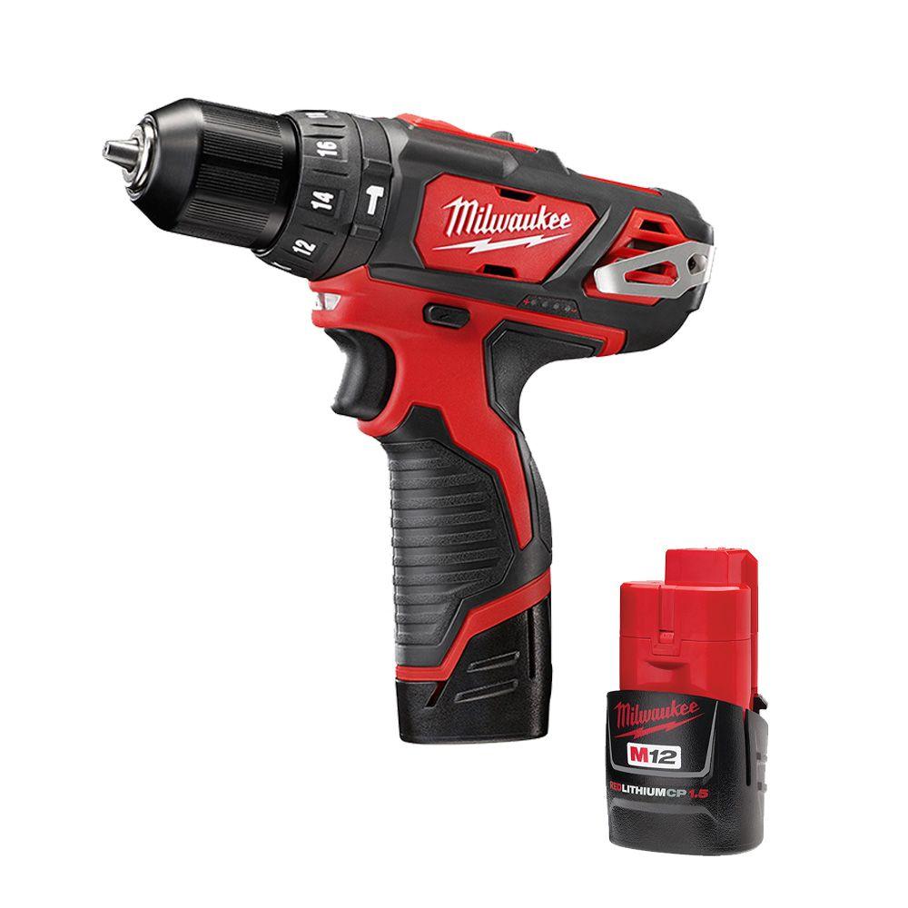 3/8-inch M12 Hammer Drill/Driver Kit