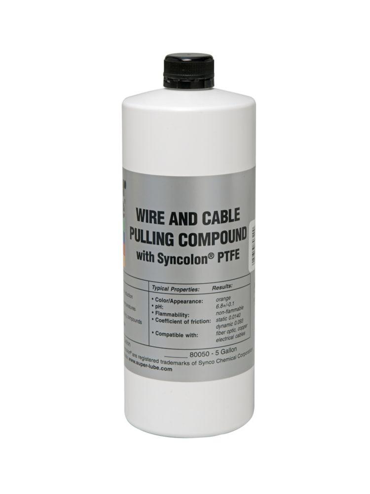 1 qt. Bottle SuperPull Fiber Optic Pulling Compound (12-Pieces)