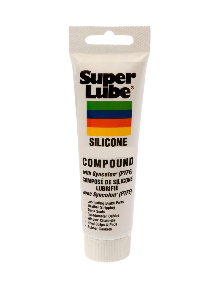 Tube 8 onces graisse lubrifiante de frein silicone avec Syncolon PTFE (12 pièces)