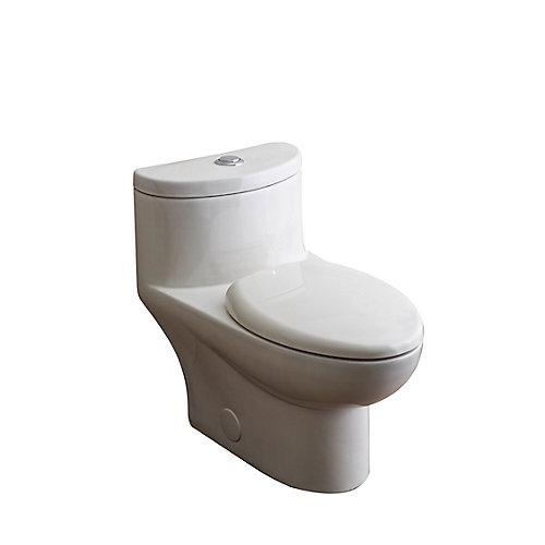 Toilette monopiece Ultima II / Tofino a double chasse complet