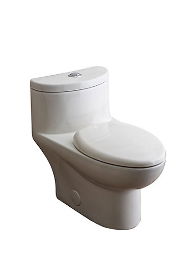 American Standard Tofino Piece  LPF Dual Flush Elongated - Elongated bowl toilet dimensions