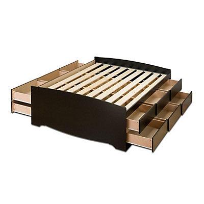 products ladder urban toshi platform queen bed storage