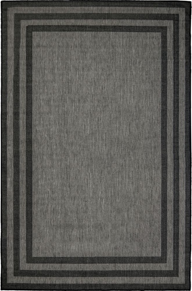 Hampton Bay 5 Feet 2 Inch x 6 Feet 7 Inch Baron Grey Black Rug
