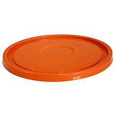 19L/5 GALLON - Orange Snap On Lid